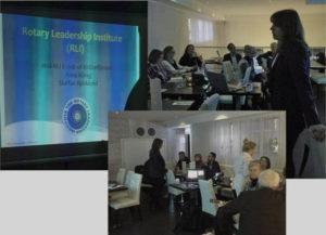 Utbildning i Rotarykunskap